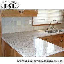 marble imitation composite quartz stone countertop
