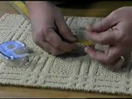 how to apply inind diy on site carpet binding