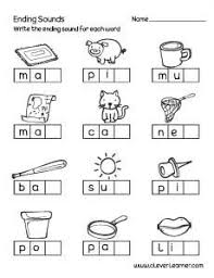 What free phonics worksheets would you like to see? Ending Sounds Worksheets And Printables For Preschool And Kindergarten Kids