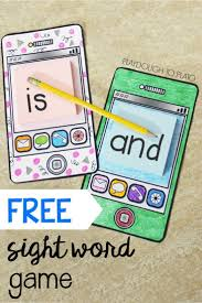 Cell Phone Sight Words