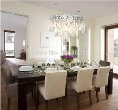 chandelier in dining room. Dining Room Crystal Chandelier Lighting Simple In N