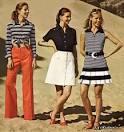 Модная одежда 70 годов