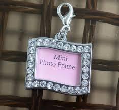 rhinestone wedding bouquet photo charm rectangle swerve silver 7 best small photo frame