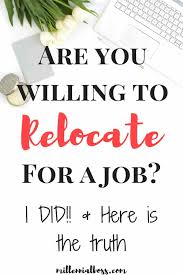 why i would never relocate for a job again i m considering a job relocation right now this came at the perfect time