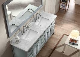 Bathroom Double Bathroom Sinks  Double Sink Vanity Sale  60 Cheap Double Sink Vanity