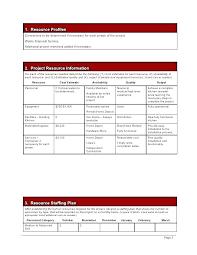 Project Estimate Template Excel Project Estimation Document Template