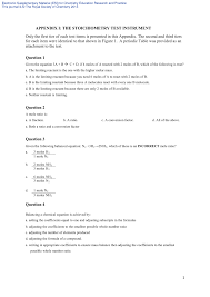 student generated submicro diagrams a useful tool for teaching and learning chemical equations and stoichiometry request pdf