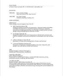 Interior Designer Resume: Extreme Resume Makeover | Blue Sky ...