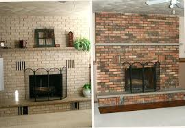 how to paint a brick fireplace painting brick fireplace before and after grey paint wash brick how to paint a brick fireplace
