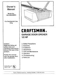 craftsman 139 53664srt2 owner s manual