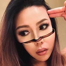 makeup artist mimi choi creates mind ing optical illusions on herself