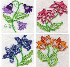 Machine Embroidery Patterns New Jacobean Flower Patterns Machine Embroidery Designs Free Sewing