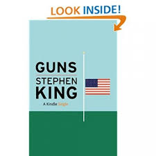 "stephen king releases gun control essay the washington post best selling author stephen king has just released a passionate call for greater gun control titled ""guns "" in a coup for amazon the essay is available"