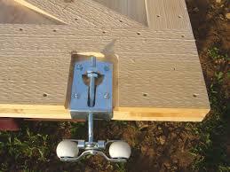 sliding barn door roller
