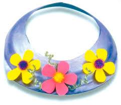 Paper Flower Hats Flower Power Sun Visor Howstuffworks