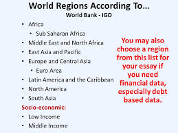 what s in a countries nations states regions changing  united nations world regions the un database includes many variables drawn from the world bank
