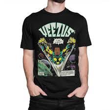 Kanye West T Shirt Yeezus Comics Tee Mens Womens All