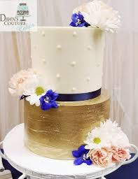 A Sweet 2 Tier Buttercream Wedding Cake Dawns Couture Cakes