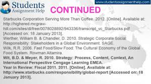 essay on starbucks csr practices continued 23 starbucks