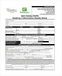 Raffle Sign Up Sheet Template 8 Raffle Sheet Templates Free Sample Example Format Download