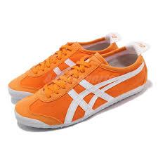 Onitsuka Tiger Size Chart Uk Details About Asics Onitsuka Tiger Mexico 66 Citrus Orange White Men Women Shoes 1183a223 800