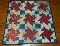 94 best Holiday Quilt Patterns images on Pinterest | Carnivals ... & Patriotic Starry Table Topper. Quilting TutorialsQuilting ProjectsQuilting  IdeasTable ... Adamdwight.com