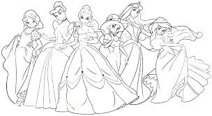 Baby Princess Coloring Pages Tremendous Baby Princess Coloring Pages