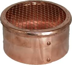 copper soffit air intake