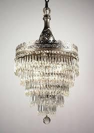 vintage art deco chandelier beautiful antique art five tier chandelier with irises vintage art deco glass