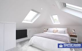 view larger image velux loft conversion bedroom with windows on three sides