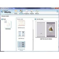 Brochure Templates On Microsoft Word How To Use The Free Brochure Templates For Microsoft Works
