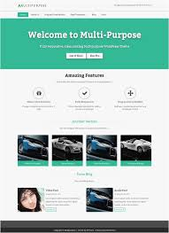 20 Website Template Builder Professional | Template Design Ideas