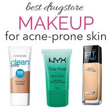best makeup to use for oily acne e skin