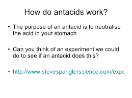 How Do Antacids Work C1 Assessed Activity