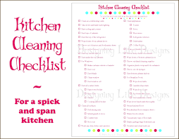 Kitchen Cleaning Schedule Example - Kitchen Appliances Tips And Review
