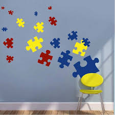Small Picture Puzzle Piece Wall Decals Kids Wall Decor From Trendy Wall Designs