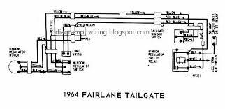 ford fairlane tailgate 1964 windows wiring diagram all about 1963 Ford F100 Wiring Diagram at 1964 Ford Fairlane Wiring Diagram