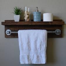 bathroom shelf towel bar glass inch bathroom shelf with images on bathroom shelf with towel