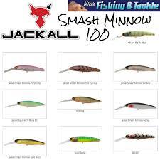 Jackall Dd Smash Minnow 100sp Hank Tuned Suspend