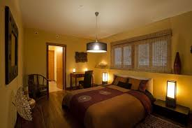 Orange And Brown Bedroom Romantic Small Bedrooms