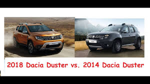 2018 renault duster specs. wonderful 2018 2018 dacia duster vs 2014 u2013 old vs new exterior comparison and renault duster specs