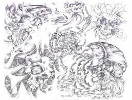 Motiv Tetování Lebky Atd 374