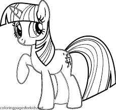 Little Pony Coloring Page Trustbanksurinamecom