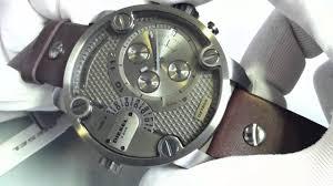 men s diesel sba oversized big chronograph watch dz7258