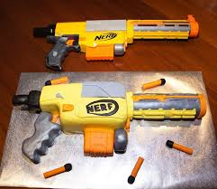 The 25 best Nerf gun cake ideas on Pinterest