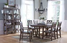 rustic gray dining table. Round Dining Table Rustic Gray R