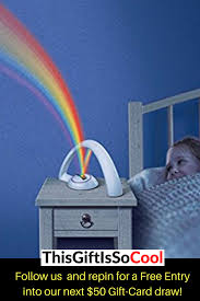 Rainbow Night Light Cool Gadgets Night Light Kids Bedroom Rainbow