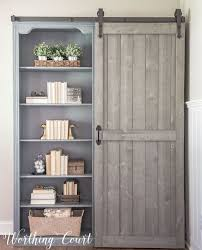 she will share with you how she did the entire project one thing is for certain adding barn doors is an amazing idea
