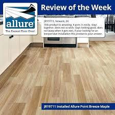 allure vinyl plank flooring reviews tile in x grey resilient trafficmaster flo