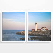 Once cut, each board is then planed and sanded to perfection Cape Elizabeth Portland Maine Seascape Lighthouse Photography Prints Parody Art Prints